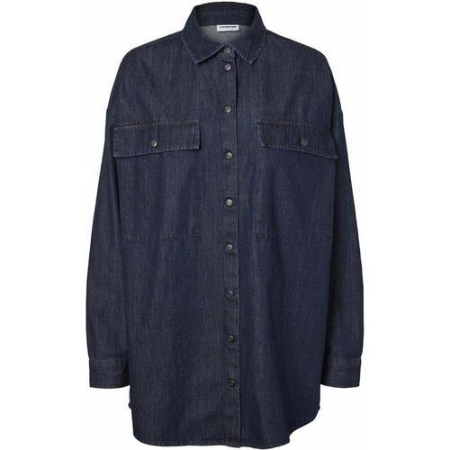 Chemise en jean Coupe ample - Noisy May - Modalova