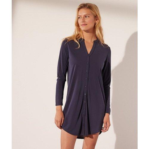 Robe chemise dos en dentelle ALEXINE - ETAM - Modalova