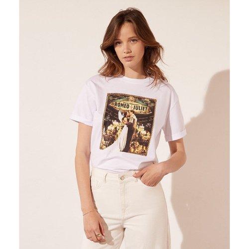 T-shirt col rond manches courtes DUO - ETAM - Modalova