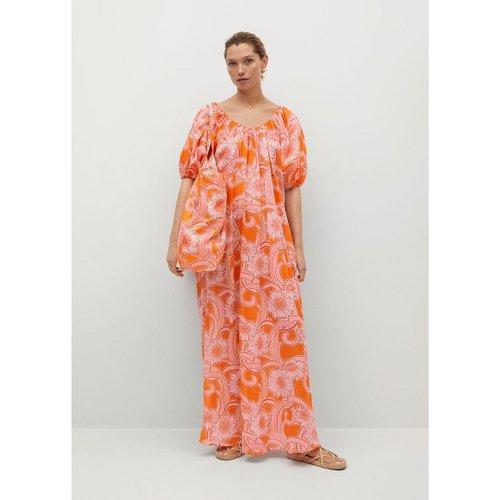 Robe coton imprimée - Mango - Modalova