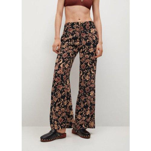 Pantalon droit imprimé - Mango - Modalova