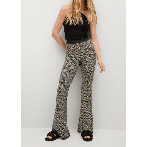 Pantalon imprimé taille élastique - Mango - Modalova