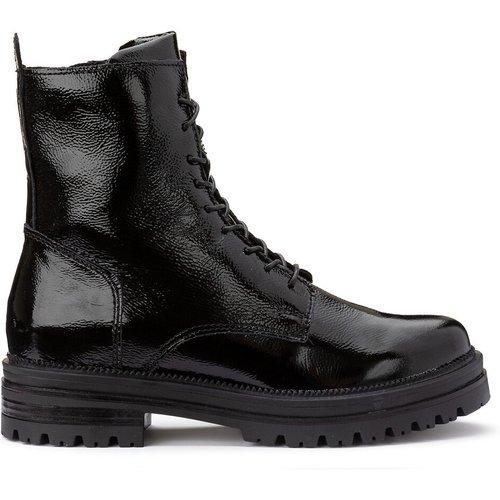 Boots cuir talon moyen - MJUS - Modalova