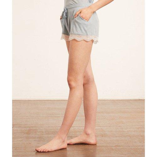 Bas de pyjama short bords dentelle WARM DAY - ETAM - Modalova