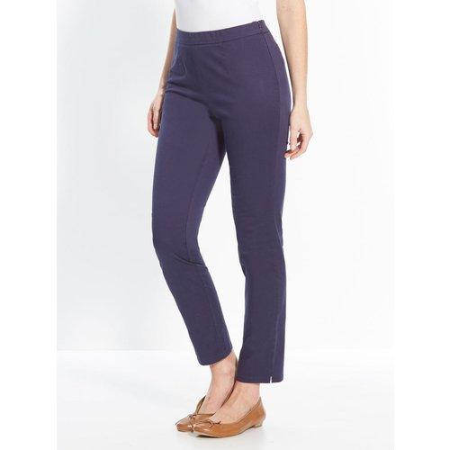 Pantalon uni, vous mesurez moins d'1,60m - COULEURS ET PRIX - Modalova
