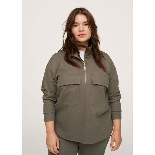 Sweat-shirt coton poches - Mango - Modalova