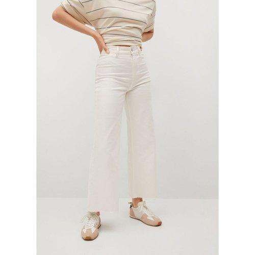 Jean style jupe-culotte taille haute élastique - Mango - Modalova
