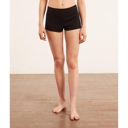 Bas de pyjama short boy leg en maille côtelée BOY LEG - ETAM - Modalova