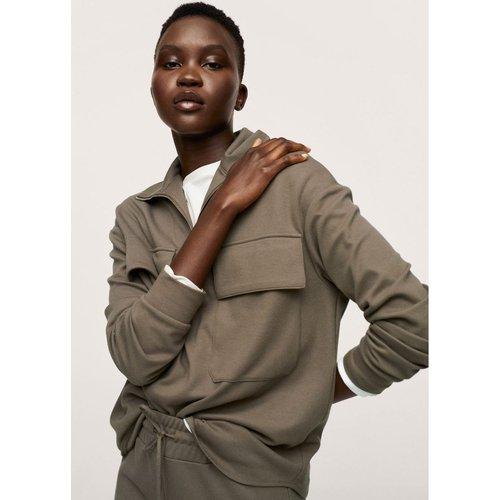 Sweat-shirt coton à poche - Mango - Modalova