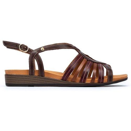 Sandales compensées en cuir IBIZA W5N - Pikolinos - Modalova