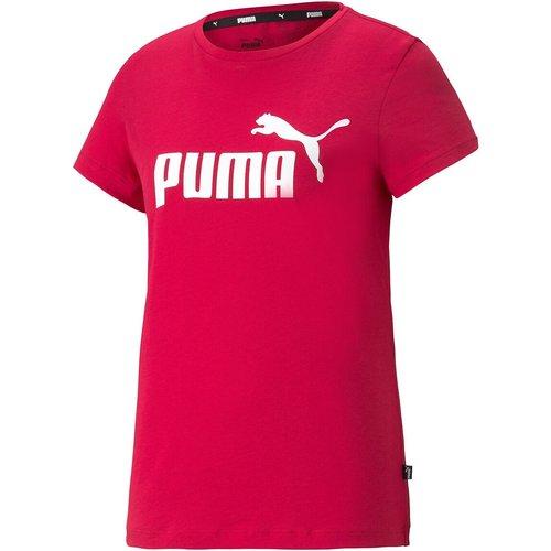 Tshirt manches courtes col rond, logo - Puma - Modalova