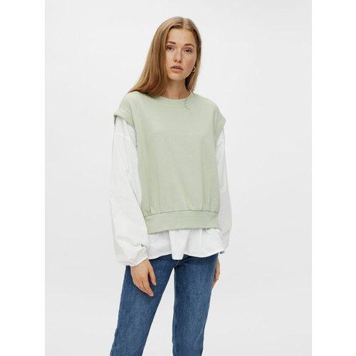Sweat-shirt Chemise - Pieces - Modalova