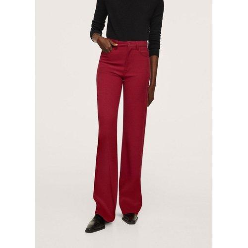 Pantalon flare poches - Mango - Modalova
