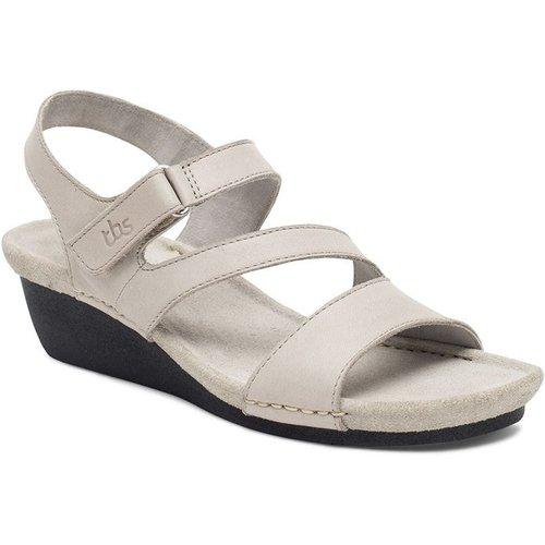 Sandales en cuir MASAYAH - TBS - Modalova