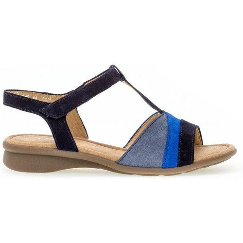 Sandales cuir talon block - Gabor - Modalova