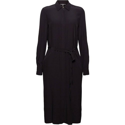 Robe chemise midi évasée - Esprit - Modalova