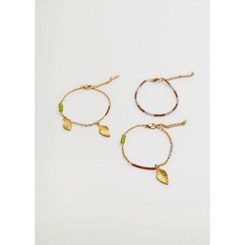 Set bracelets combinés - Mango - Modalova