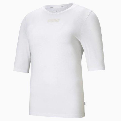T-shirt col rond manches courtes logo devant - Puma - Modalova