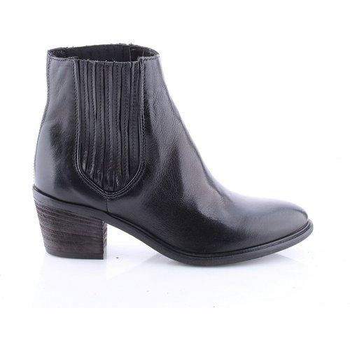 Boots cuir élastiquées - MJUS - Modalova