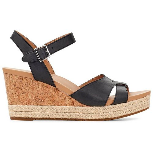 Sandales compensées en cuir Cloverdale - Ugg - Modalova