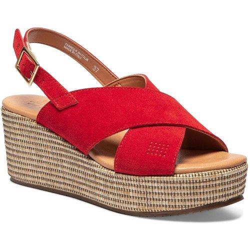 Sandales compensées cuir PALTINA - TBS - Modalova