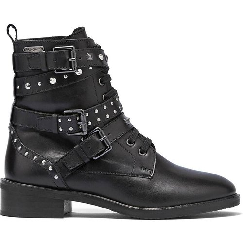 Boots cuir Orsett Rock - Pepe Jeans - Modalova
