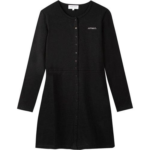 Robe boutonnée courte, manches longues - MAISON LABICHE - Modalova