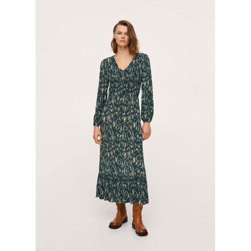 Robe imprimée texturée - Mango - Modalova