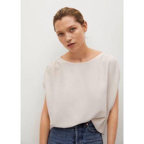 T-shirt épaules froncées - Mango - Modalova