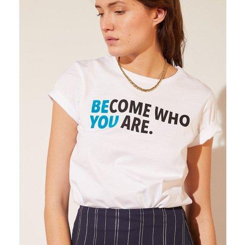 T-shirt 'become who you are' YOURSELF - ETAM - Modalova