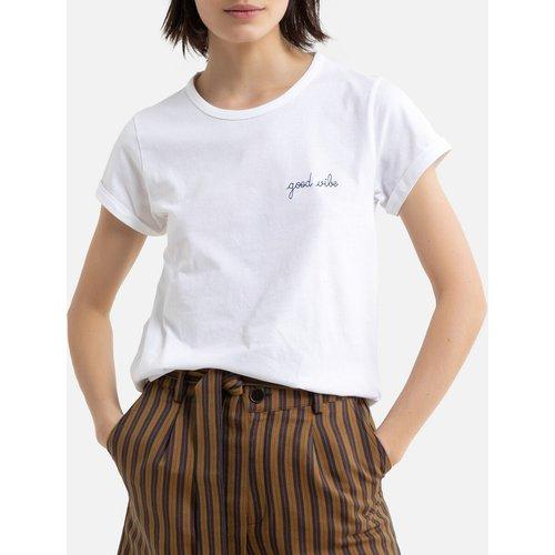 Tee shirt en coton bio col rond GOOD VIBE - MAISON LABICHE - Modalova