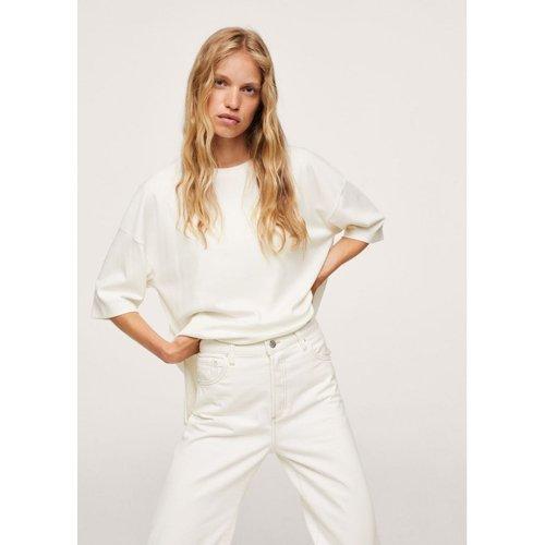 T-shirt oversize coton - Mango - Modalova