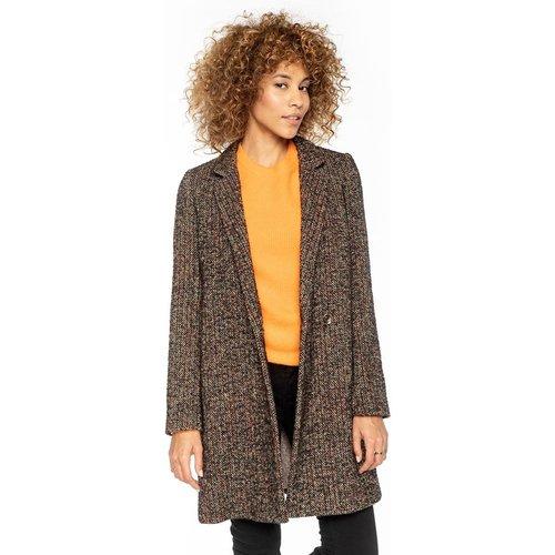 Manteau épuré en tweed - TRENCH AND COAT - Modalova