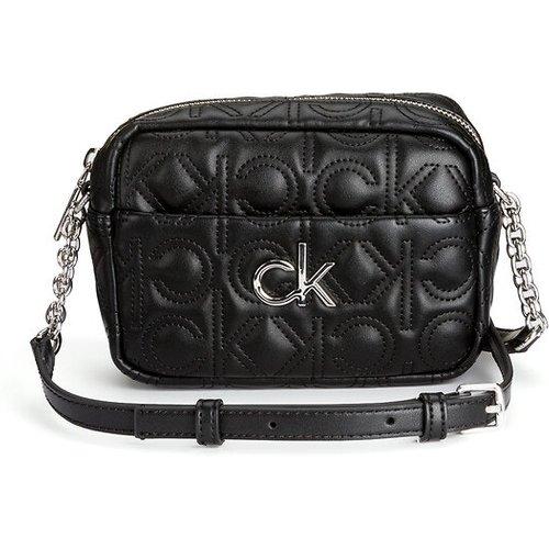 Sac camera à bandoulière et motif embossé - Calvin Klein - Modalova