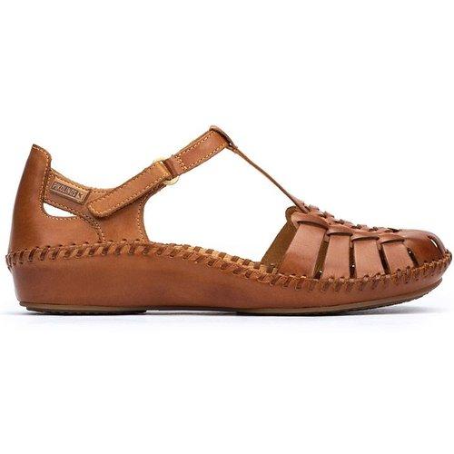 Sandales compensées en cuir P. VALLARTA 655 - Pikolinos - Modalova
