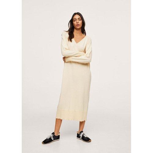 Robe maille coton - Mango - Modalova