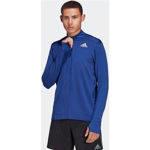 T-shirt adidas Own The Run 1/2 Zip Long Sleeve - adidas performance - Modalova