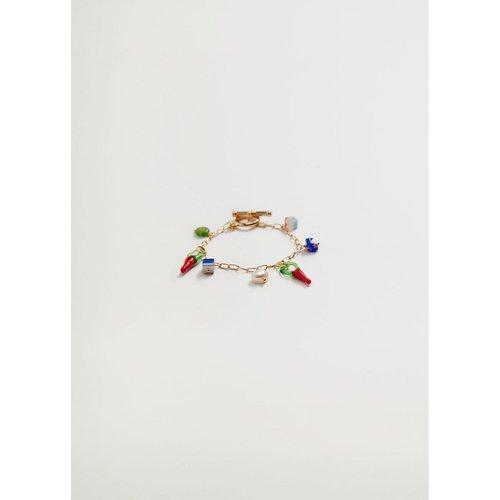 Bracelet perles combinées - Mango - Modalova