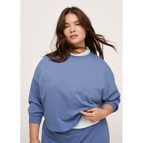 Sweat-shirt crop texturé - Mango - Modalova