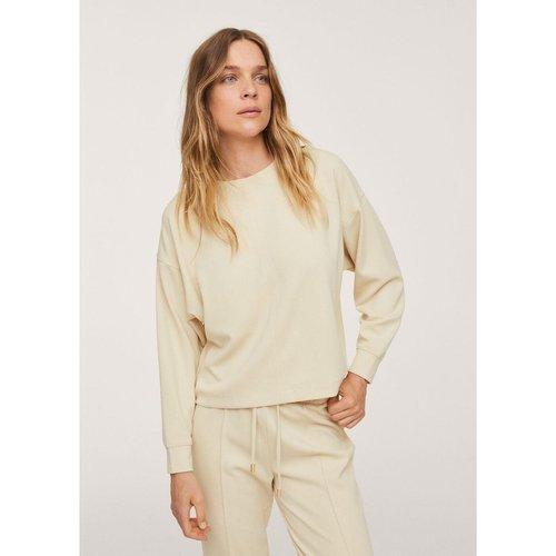 Sweat-shirt oversize texturé - Mango - Modalova