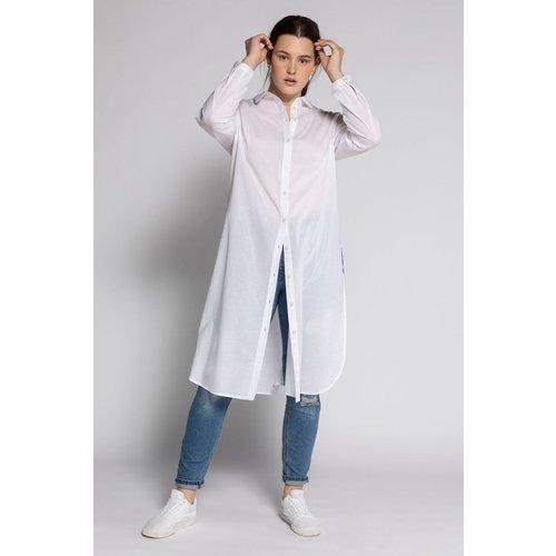 Chemise longue, col chemise, manches longues - STUDIO UNTOLD - Modalova