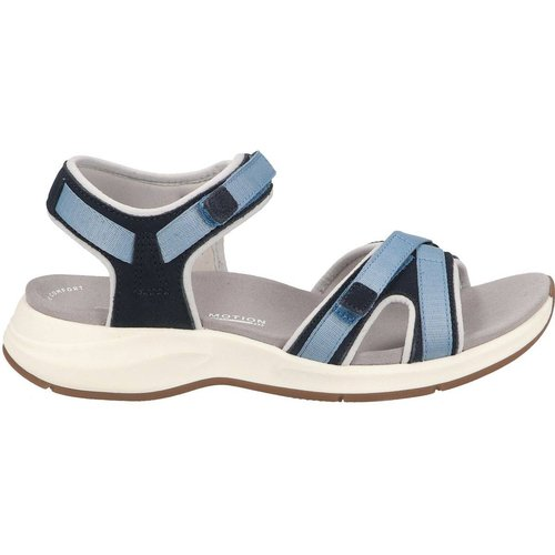 Sandales Suède/Textile - Clarks - Modalova