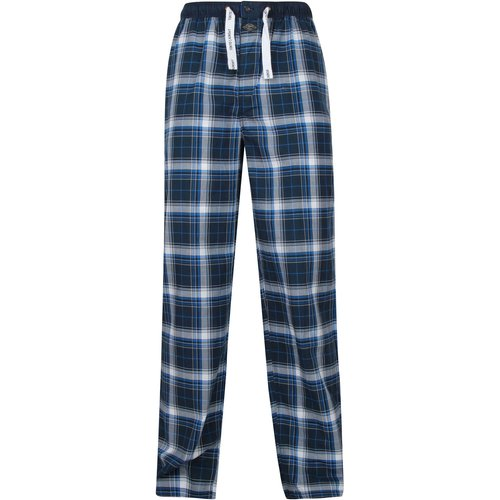 Jowett Checked Lounge Pants In Blue - Tokyo Laundry - M