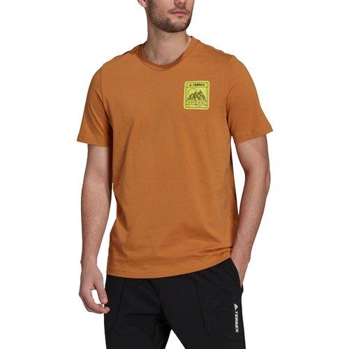 Terrex Patch Mountain Graphic T-Shirt - AW21 - Adidas - Modalova