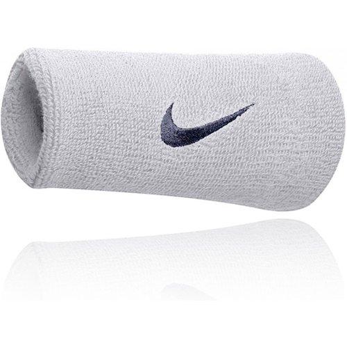 Swoosh Doublewide Wristbands - SP21 - Nike - Modalova