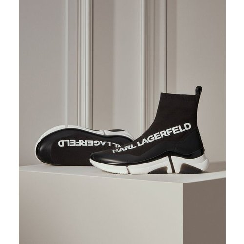 Bottine Venture Karl en maille façon chaussette - Karl Lagerfeld - Modalova