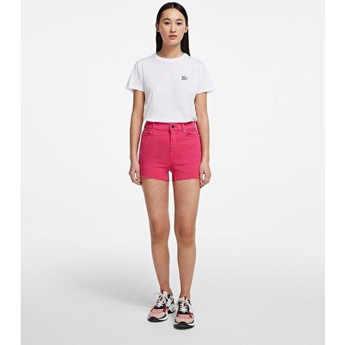 Short en jean #Logo - Karl Lagerfeld - Modalova