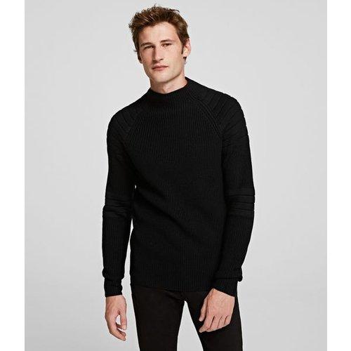 Pull à col roulé tricoté - Karl Lagerfeld - Modalova