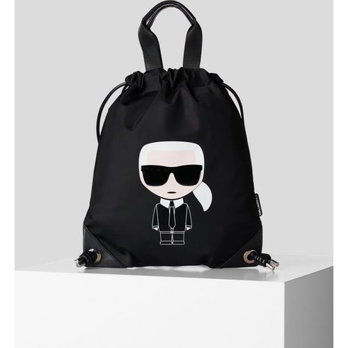 Sac à dos plat K/Ikonik - Karl Lagerfeld - Modalova