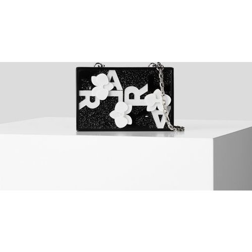 MINAUDIÈRE ORCHIDÉES - Karl Lagerfeld - Modalova